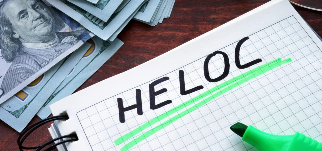 HELOC WITH MORTGAGE MARK