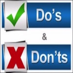 Do's and Don'ts of Home Loans