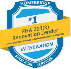 Best FHA 203k Rehab Lender in Nation