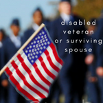 disabled veteran or surviving spouse tax deduction